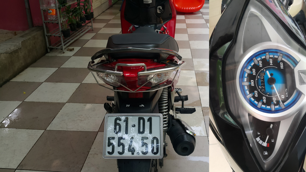 Ban xe FUTURE FI 125cc Zin 100 chinh chu ban - 2