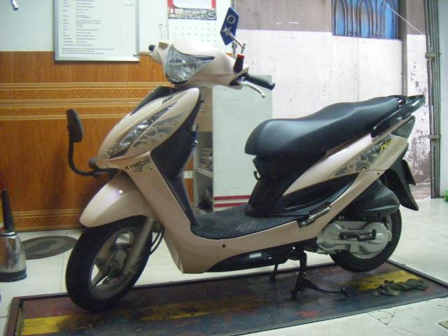 Ban xe Kymco Jocket Fi 125cc