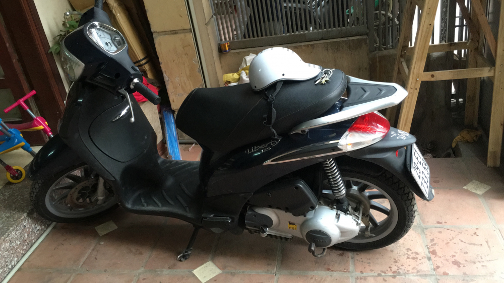 Ban xe Liberty 125 nhap khau Y doi 2012