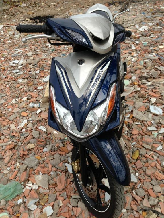 Ban Yamaha Luvias GTX ban dac biet Sport 2014 Xanh bac chinh chu su dung - 5