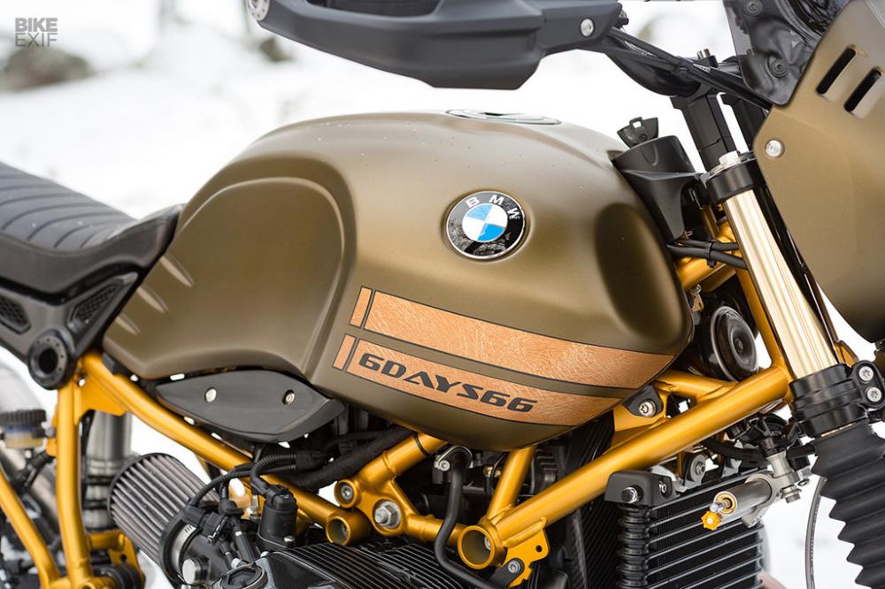 BMW RNINET URBAN GS ban do Gau tuyet den tu xuong do xe Unique Custom Cycles - 8