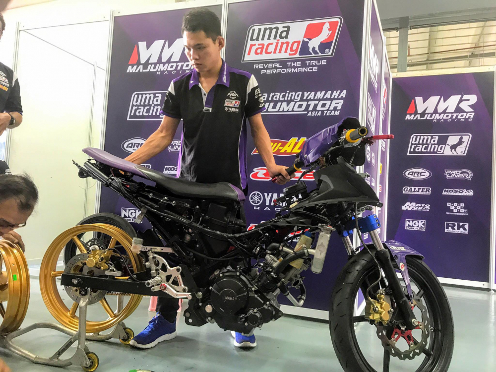 Can canh Exciter 150 su dung phuoc truoc Winner 150 trong ARRC 2018 - 5