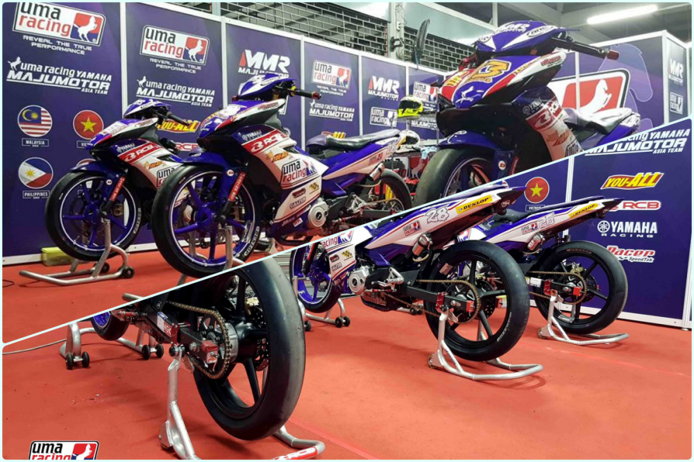 Can canh Exciter 150 su dung phuoc truoc Winner 150 trong ARRC 2018