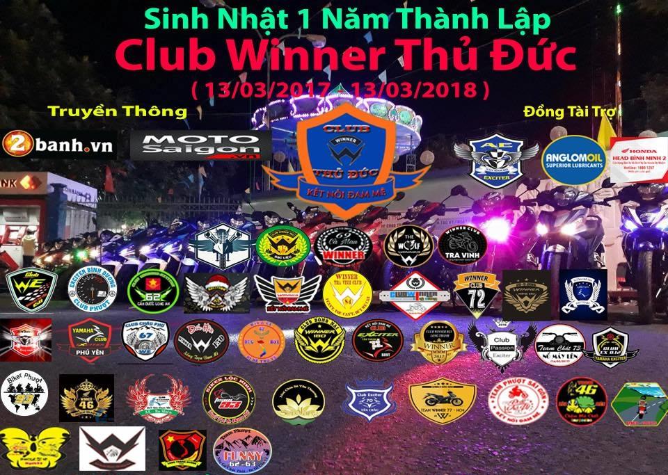 Club Winner Thu Duc nhin lai chang duong 1 nam da qua