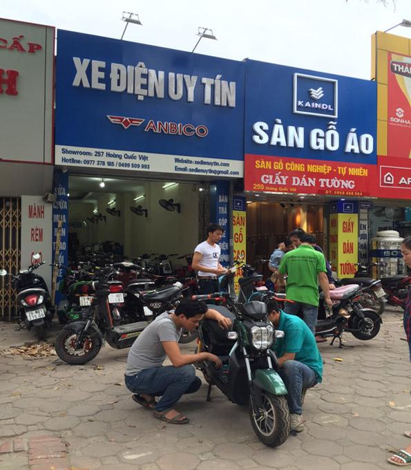 Cua hang ban xe dap dien o Ba Dinh Ha Noi