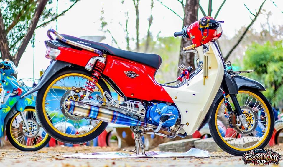 Cub Fi do tuong khong dep ai ngo dep khong tuong cua biker Thailand - 3