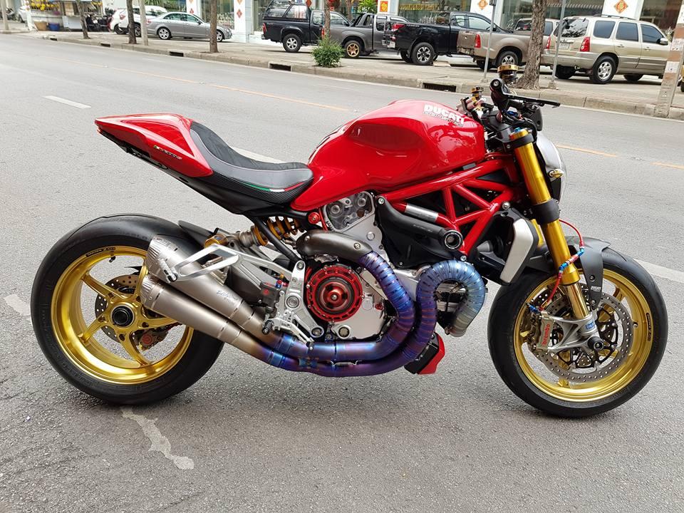 Ducati Monster quai thu cong nghe den tu Thai Lan