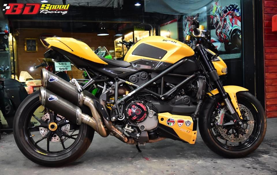 Ducati Streetfighter ga khong lo mang ten Ong bap cay - 8