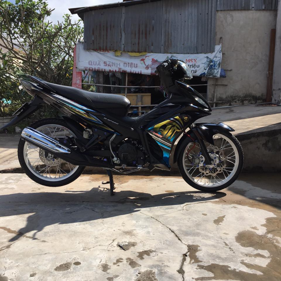 Exciter 135 do tem Lc135 cung loat do choi dat tien