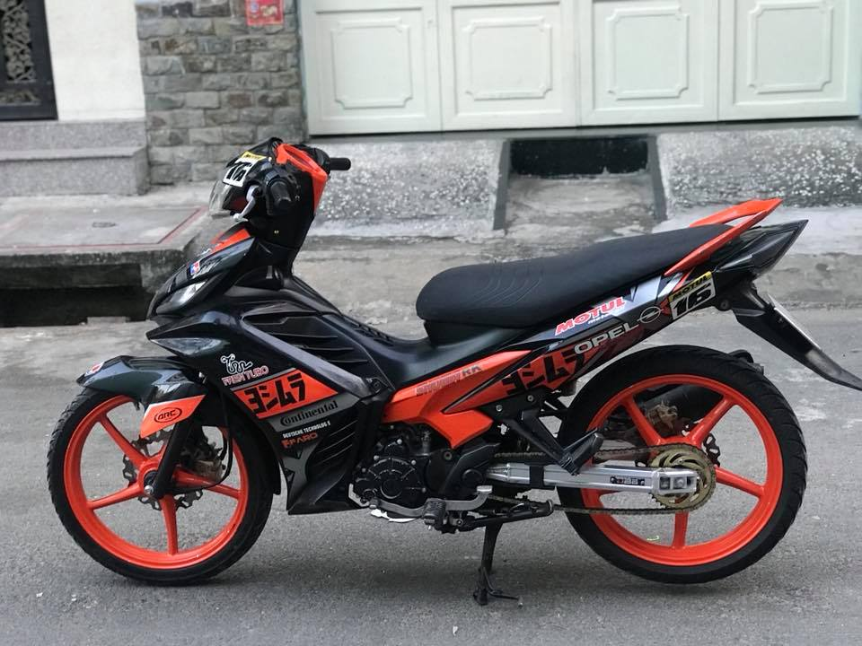 Exciter 135 do dam chat the thao voi mam Racing boy
