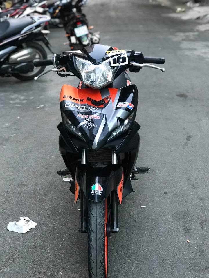 Exciter 135 do dam chat the thao voi mam Racing boy - 4