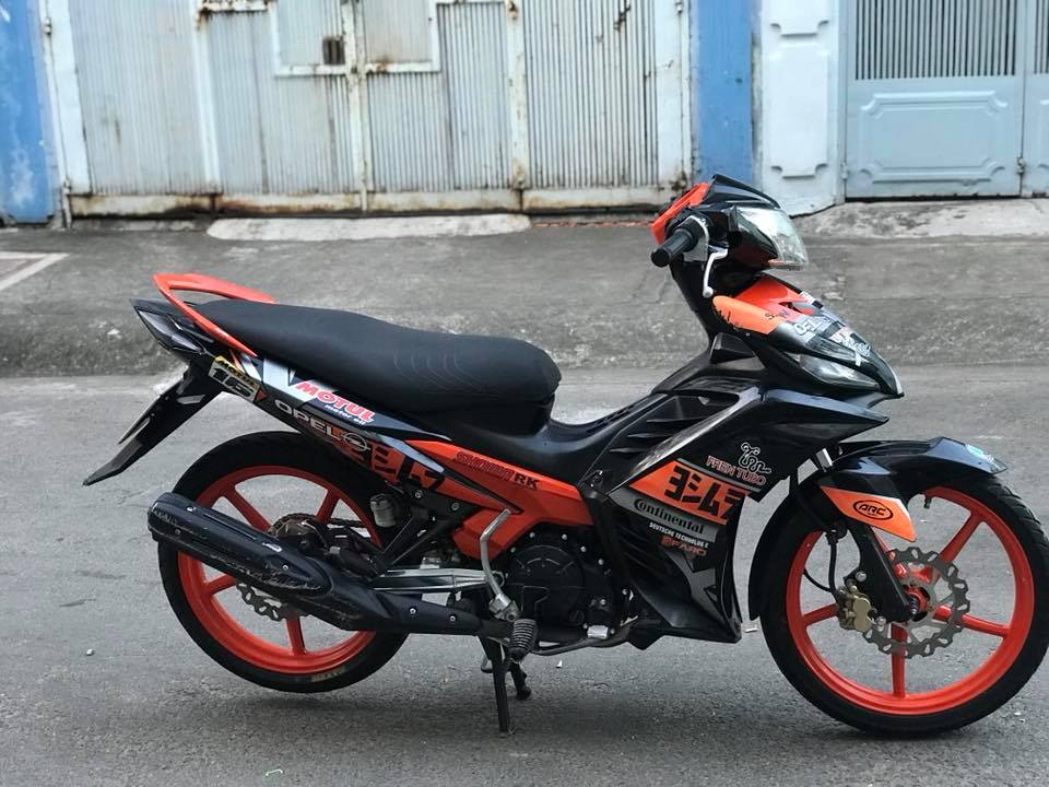 Exciter 135 do dam chat the thao voi mam Racing boy - 7