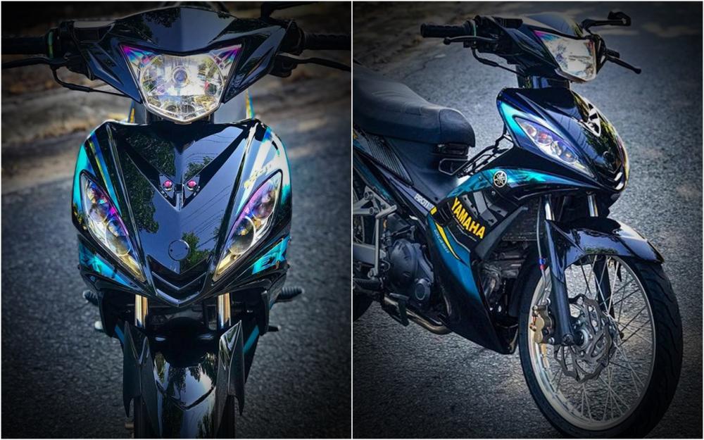Exciter 2010 do don gian boc pha ve dep nguyen thuy cua biker Tien Giang