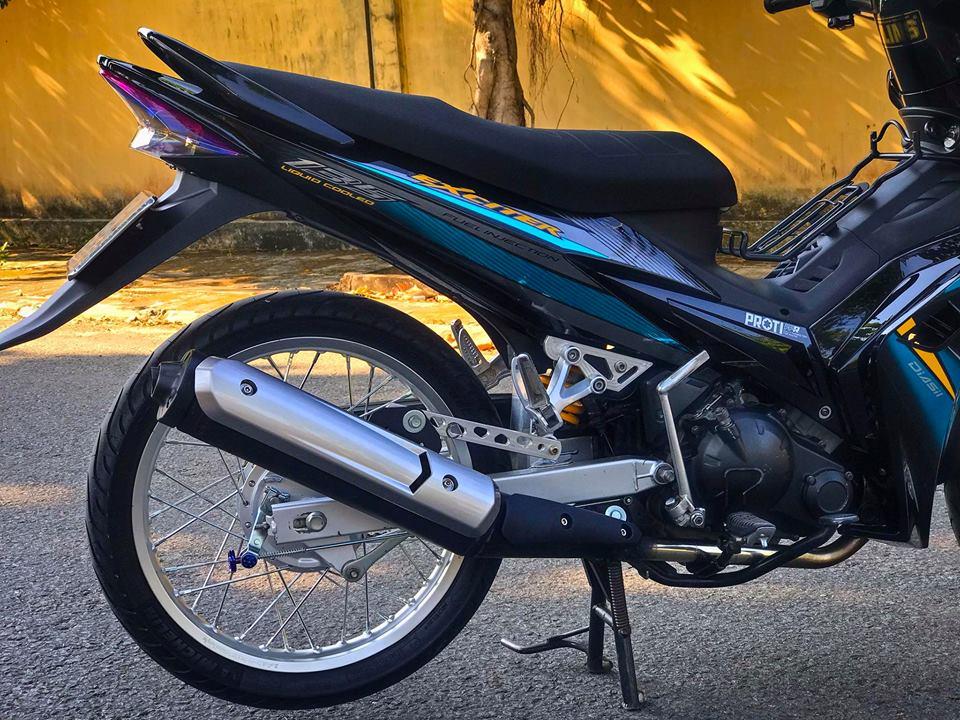 Exciter 2010 do don gian boc pha ve dep nguyen thuy cua biker Tien Giang - 6