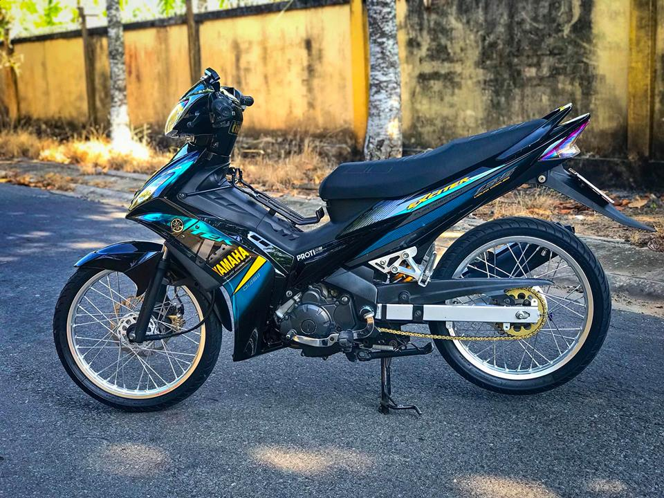 Exciter 2010 do don gian boc pha ve dep nguyen thuy cua biker Tien Giang - 7