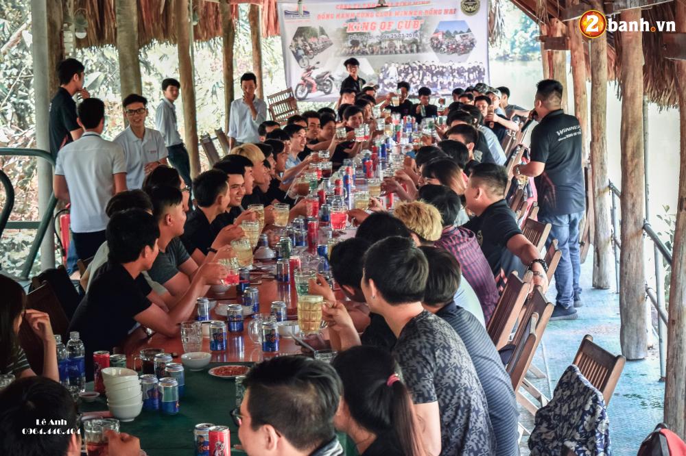 Hang tram chiec Winner hoi tu trong buoi offline cua Club Winner 150 Dong Nai King of Cub - 26