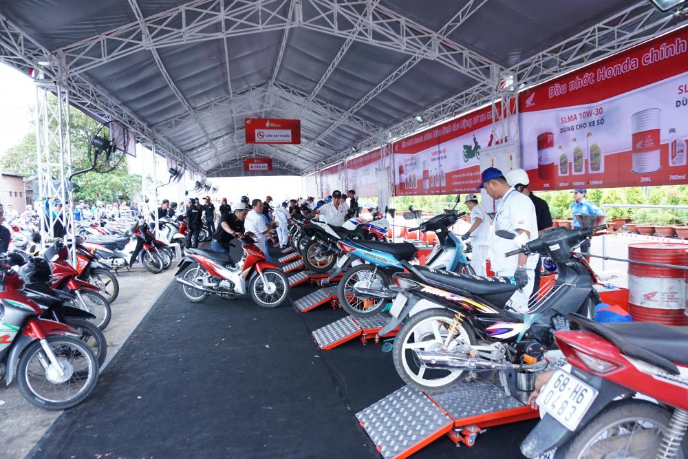 Honda Tron niem tin lan dau tien den voi khach hang cac tinh phia bac trong thang 32018 - 3