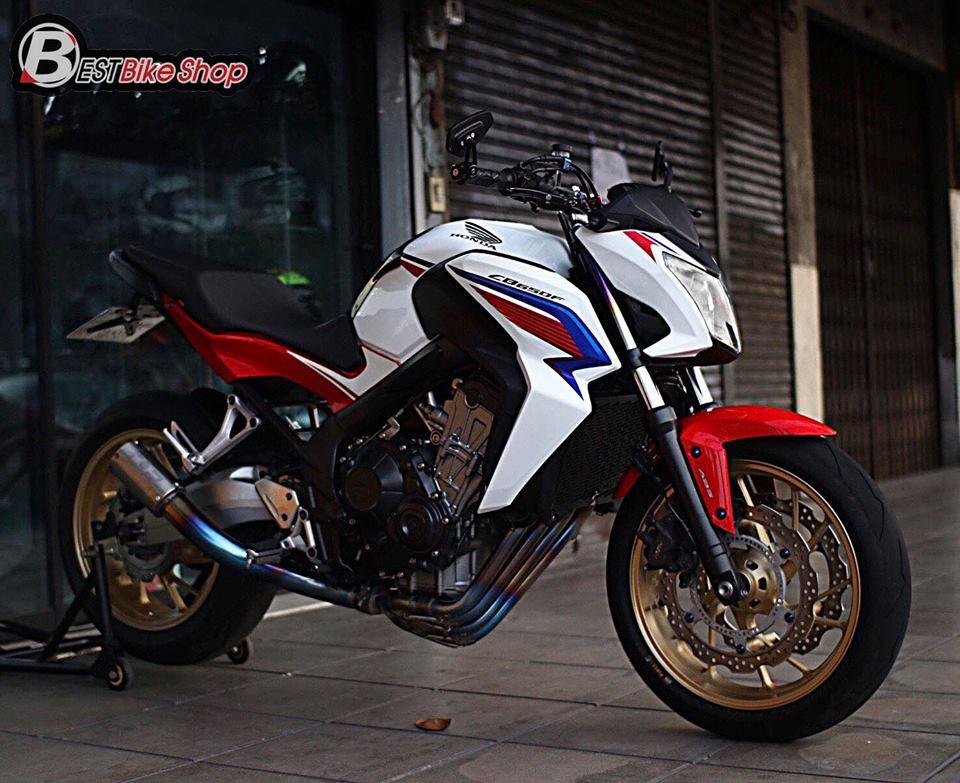 Honda CB650F ban nang cap voi nhieu phu kien an tuong - 10