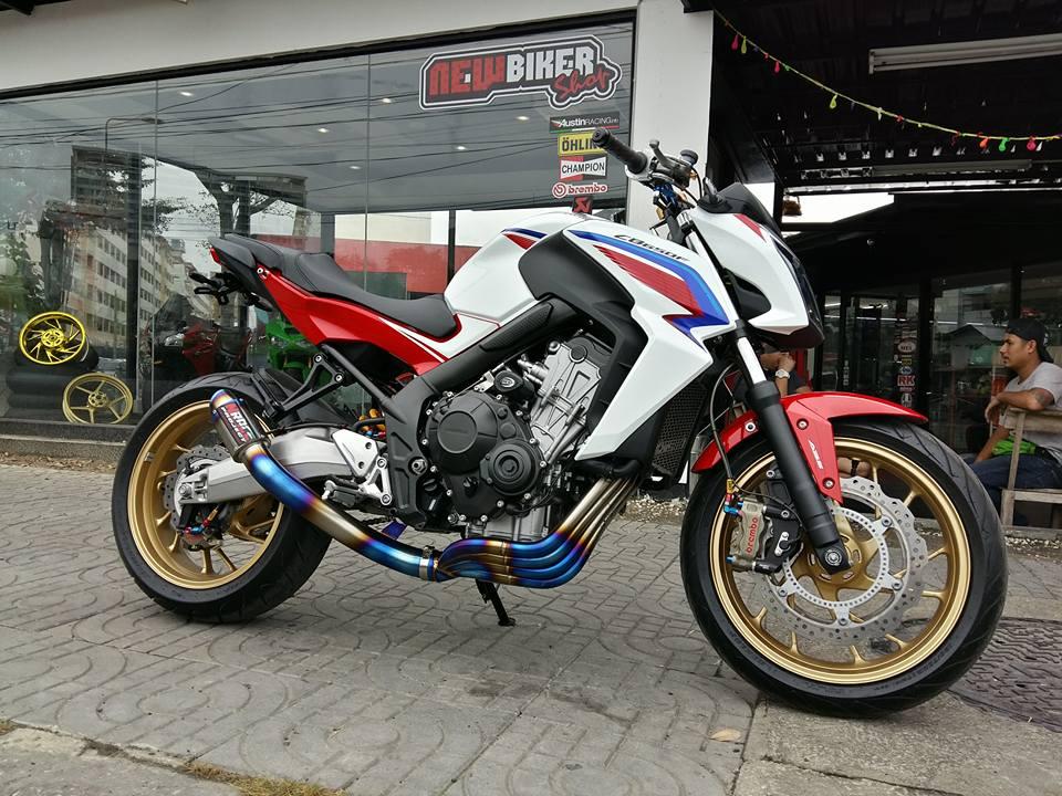 Honda CB650F chan dung hoan hao ke tranh ngoi Nakedbike tam trung