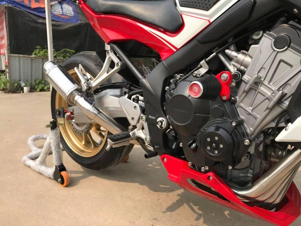 Honda CB650F ve dep phong tran tu mau Nakedbike tam trung - 6