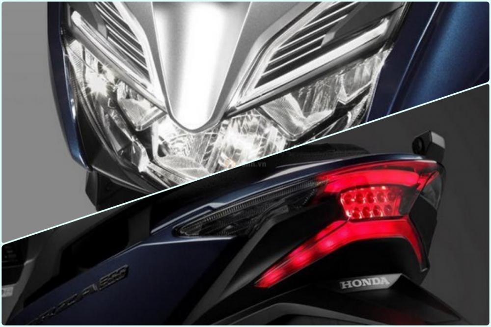Lo dien Honda Forza 300 2018 Trang bi nhieu cong nghe hien dai truoc gio ra mat