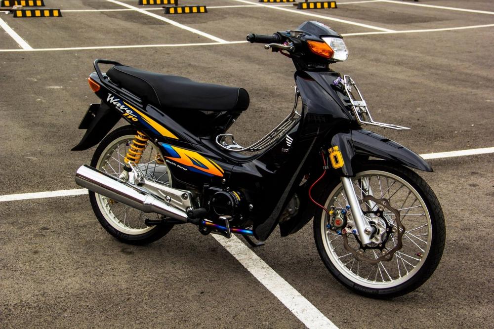 Honda Wave 110 do duoc chu xe chi tren chuc trieu len do choi