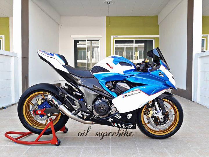 Kawasaki Z800 lot xac khong tuong voi dien mao hoan toan khac biet - 7