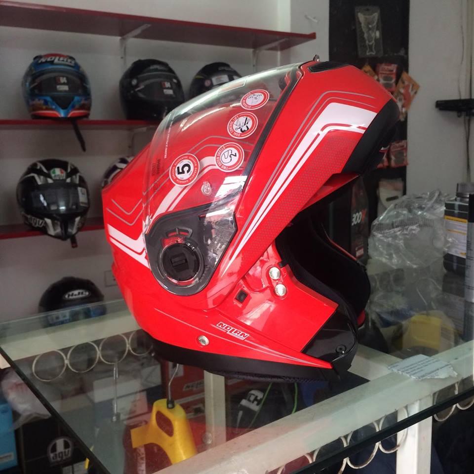 Moto299 Mu lat ham Nolan N104 tai Ha Noi