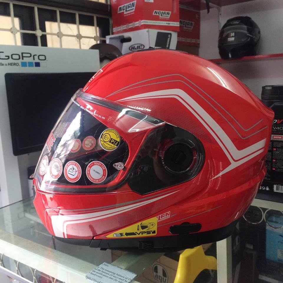 Moto299 Mu lat ham Nolan N104 tai Ha Noi - 2