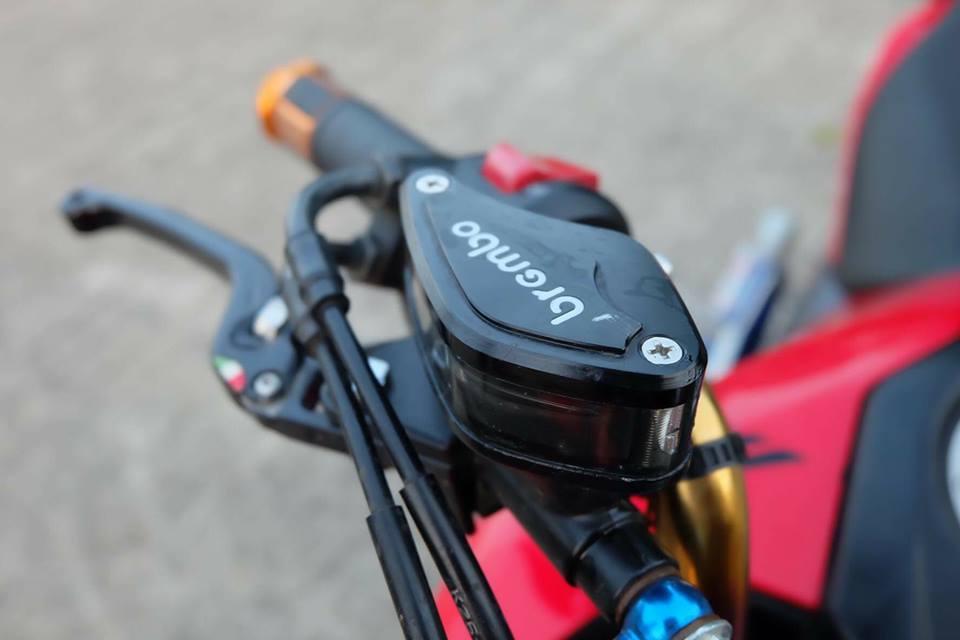 MSX 125 do an tuong voi dan chan sieu mau cua biker Thailand - 5