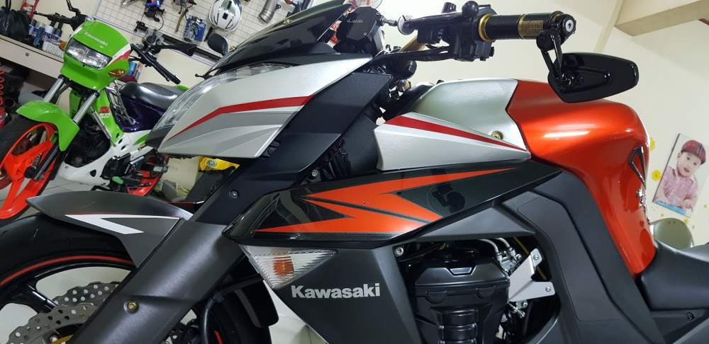 Ban Kawasaki Z1000HQCN62012HISSSaigonodo 16kCuc dep - 14