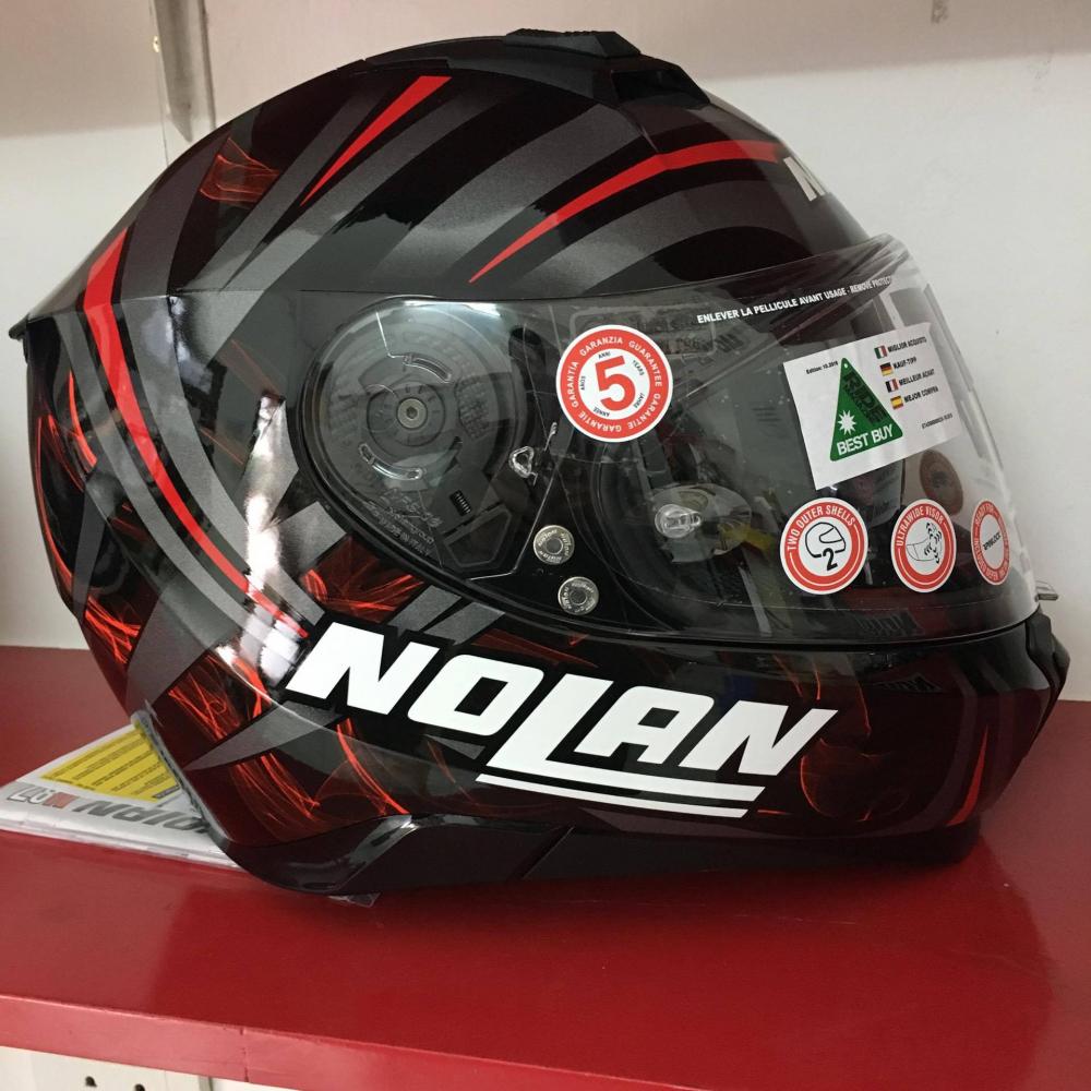 Nolan N87 LEDLIGHT NCOM den song do - 3