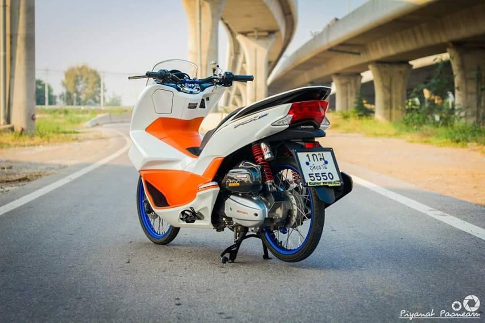 PCX 150 do Drag tao dang ben con duong cao toc cua biker Thailand - 10