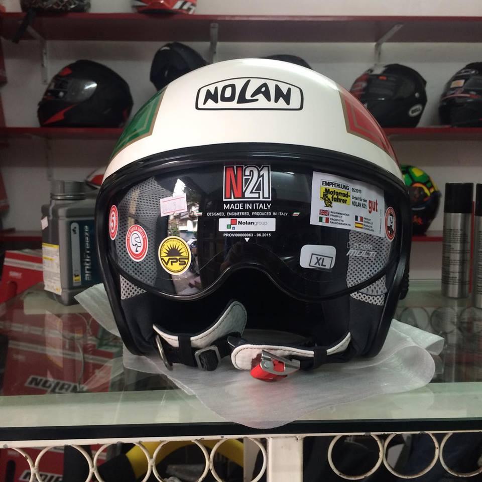 motobox Nolan N21 Helmet don gian va tien dung - 8