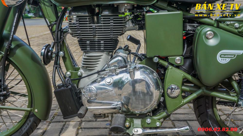 Royal Enfield Classic Battle Green chinh hang Hoang Minh Khoi LH 0906828280 - 5