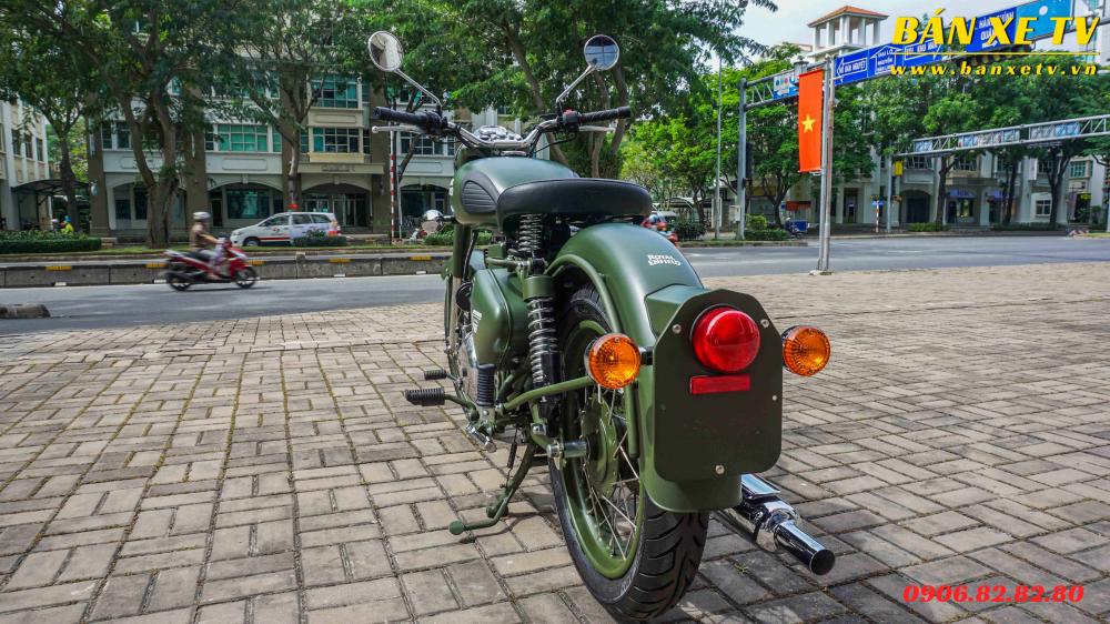 Royal Enfield Classic Battle Green chinh hang Hoang Minh Khoi LH 0906828280 - 7