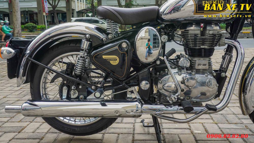Royal Enfield Classic Chrome Black chinh hang Hoang Minh Khoi LH 0906828280 - 9