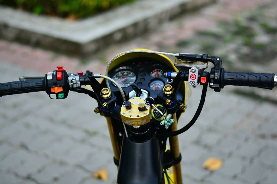 Sonic 125 do chat lu mang ve dep hien dai cua biker nuoc ban - 4