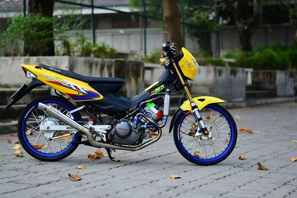 Sonic 125 do chat lu mang ve dep hien dai cua biker nuoc ban - 6