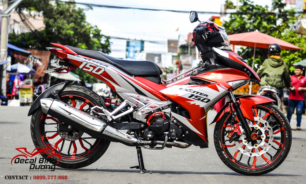 Tong Hop Tem Xe Exciter 150 Dep Nhat 2018