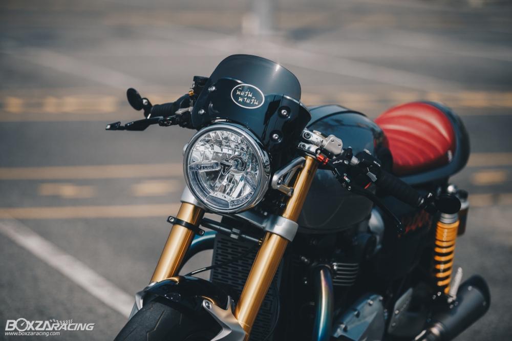 Triumph Thruxton R chan dung hoan hao tu Cafe Racer Legend - 3