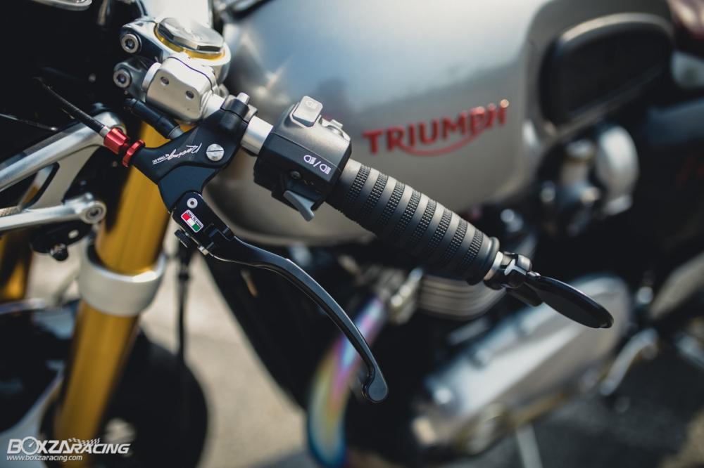 Triumph Thruxton R chan dung hoan hao tu Cafe Racer Legend - 7
