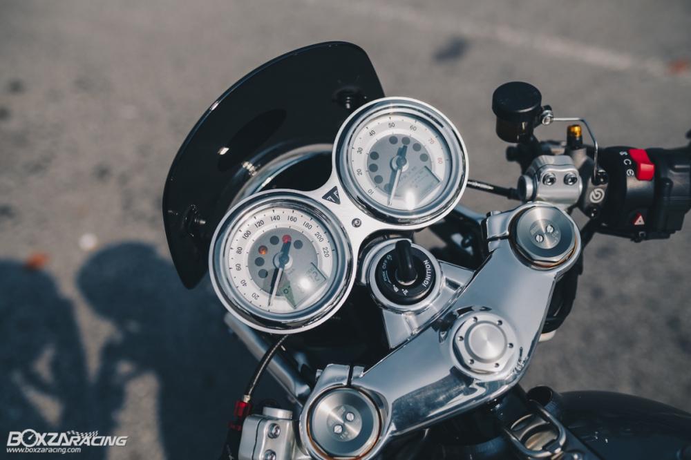 Triumph Thruxton R chan dung hoan hao tu Cafe Racer Legend - 9