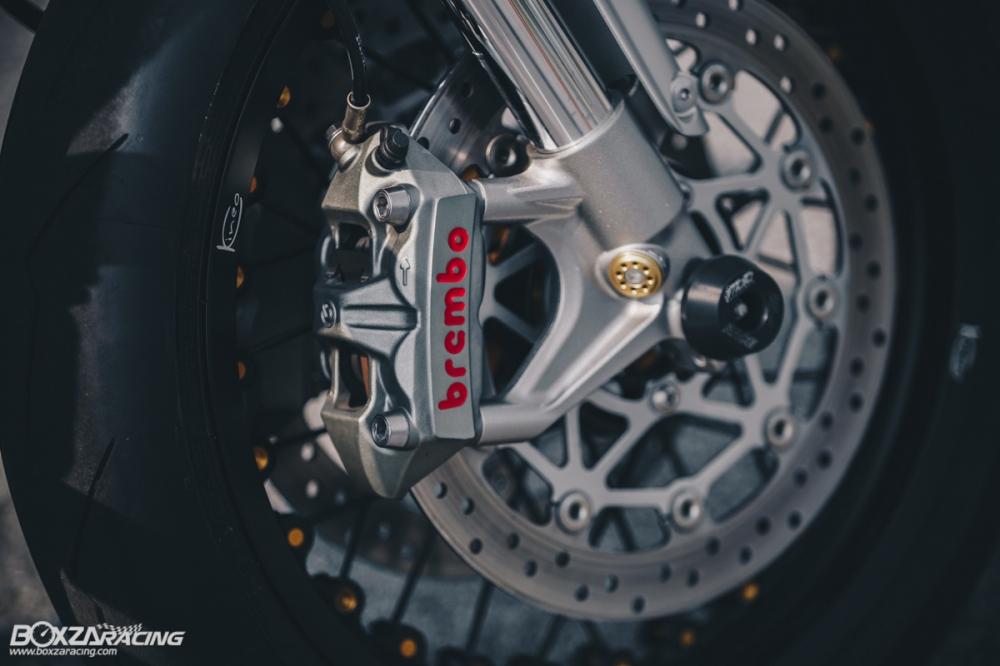 Triumph Thruxton R chan dung hoan hao tu Cafe Racer Legend - 17