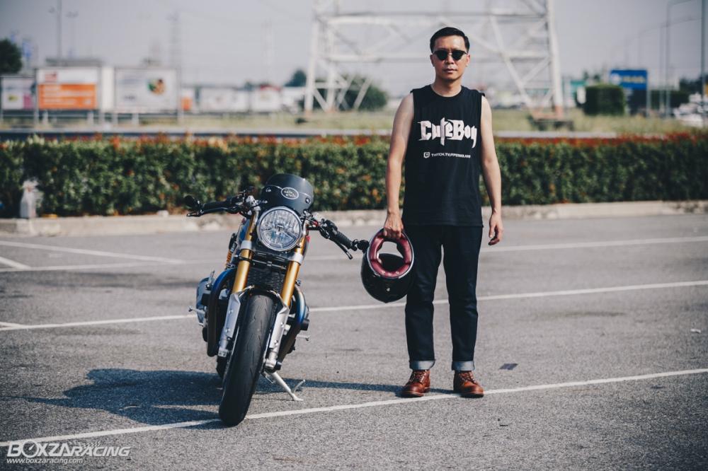 Triumph Thruxton R chan dung hoan hao tu Cafe Racer Legend - 33