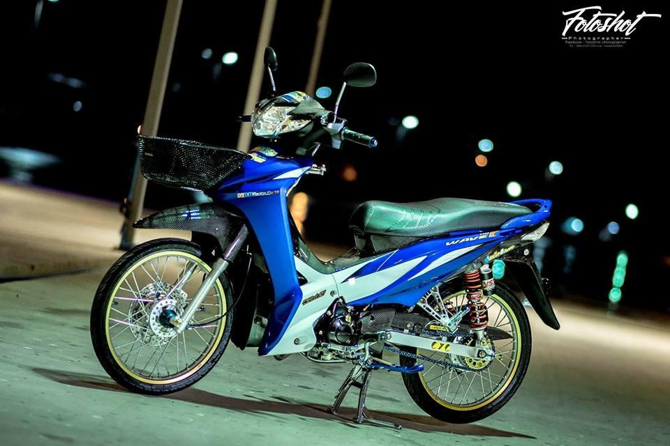 Wave 110 do bien the moi tao net dep ma mi cua biker Thailand - 9