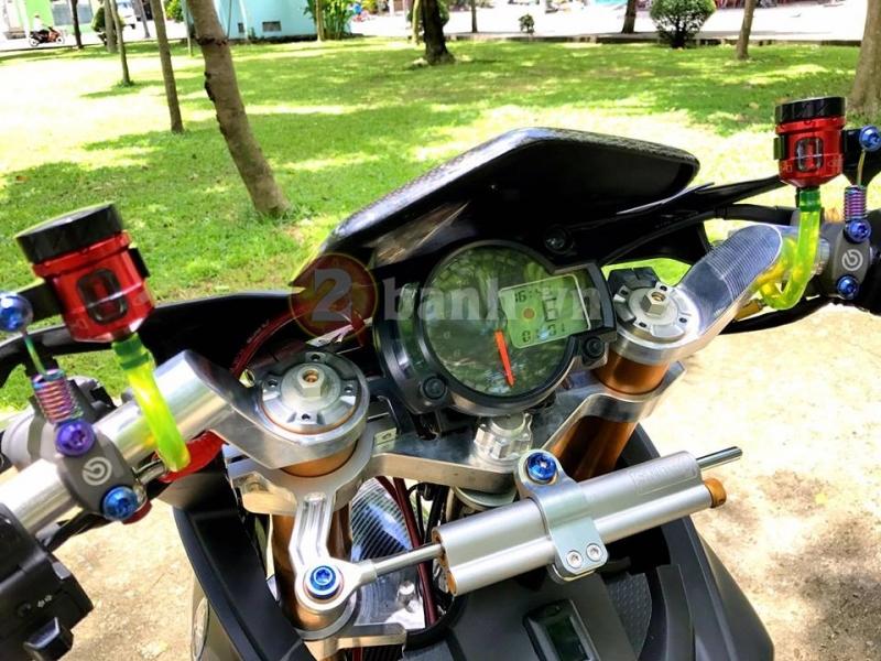 Xe Exciter 150 Den Nham Do Dan Do Choi Phan Khoi Lon Sieu Khung - 3