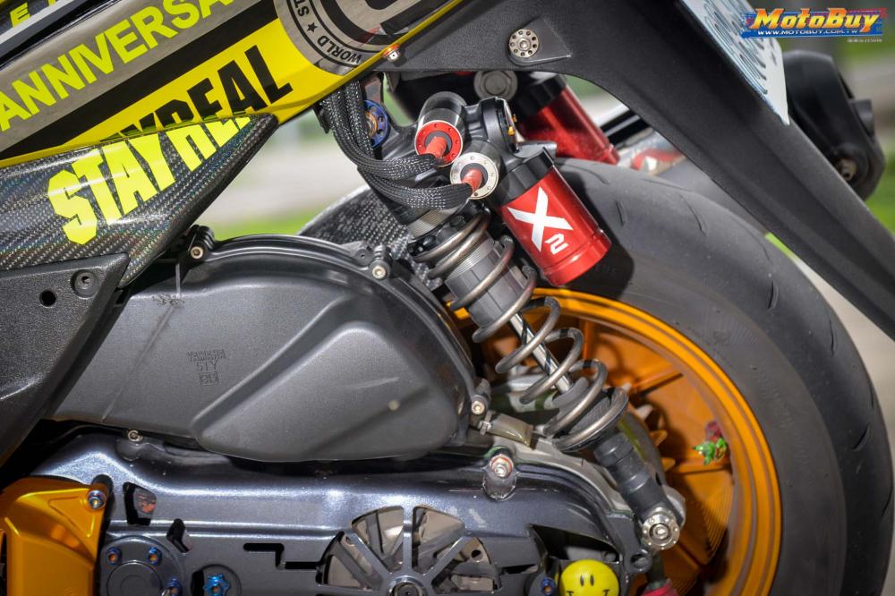 Yamaha Cygnus X125 do hoanh trang voi option do choi gia tri