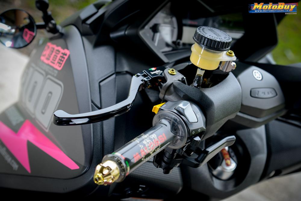 YAMAHA TMAX 530 ban nang cap mang ten Pink Panther - 5
