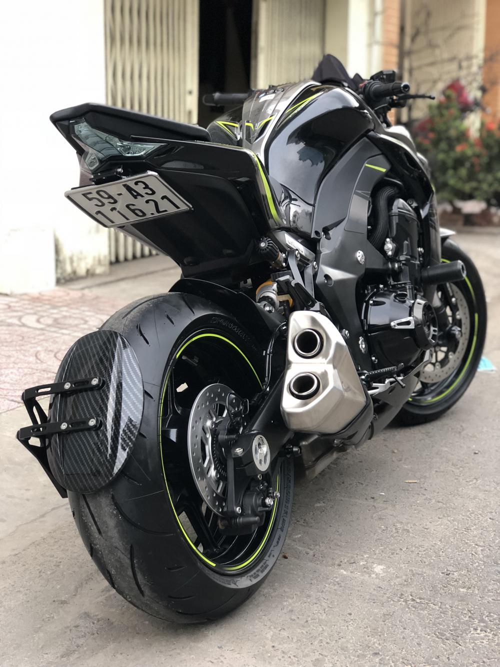 ___Can Ban kawasaki Z1000R ban dat biet ABS date 2017 chau au chia khoa hiss HQCN odo 900km